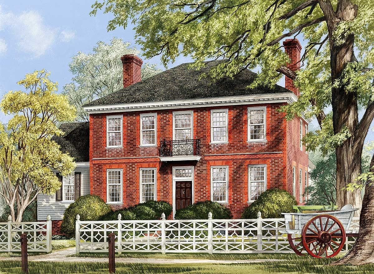Williamsburg Colonial House Plans Wmbg Rentals Com Other Properties Colonial House Plans Colonial House Craftsman House Plans