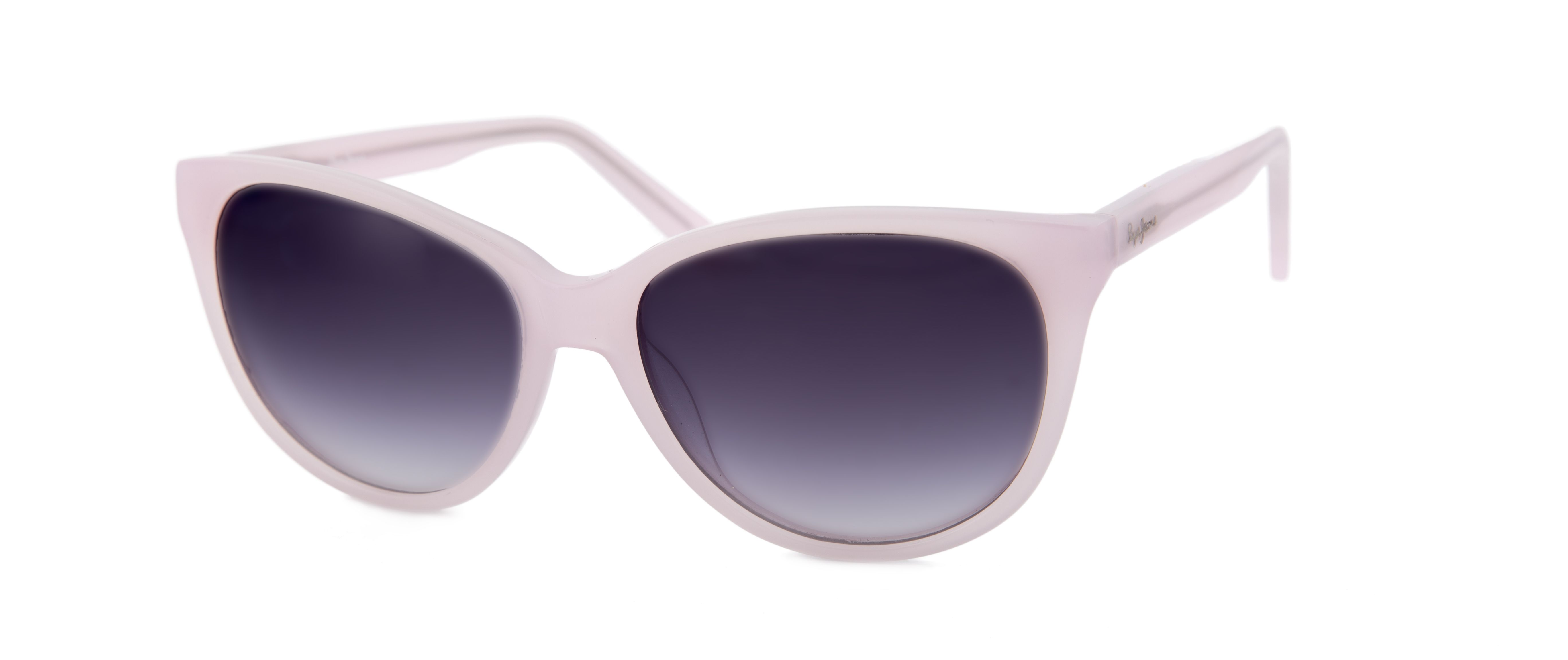 d4ebab4524 Gafas de sol Pepe Jeans para Opticalia. Montura en color rosa pastel ...