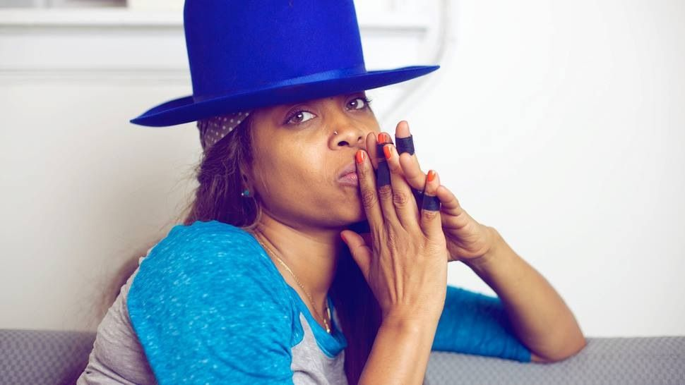 Erykah Baduuuu, my girl