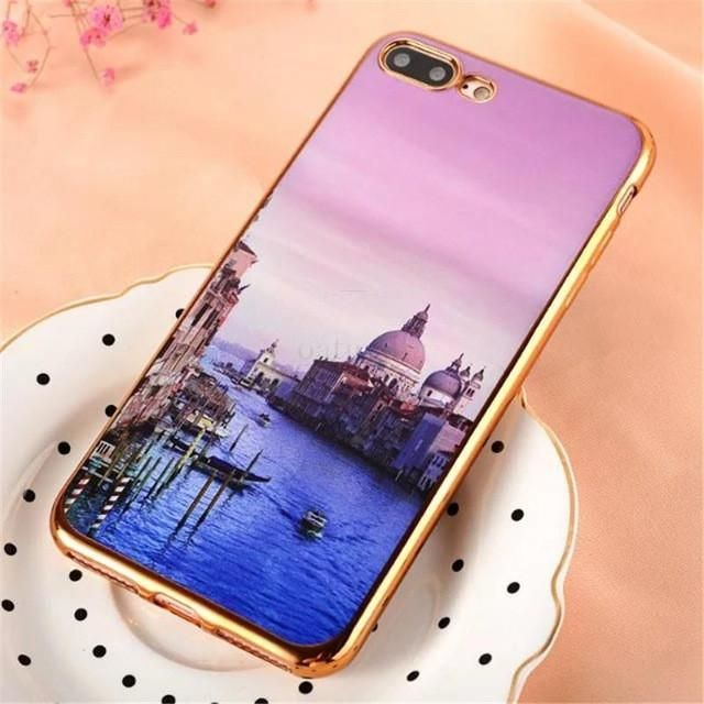 Flower Soft Clear Cases For Apple Iphone 7 Case
