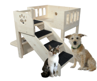 Innenbalkon Buster, Indoorbalkon für Hunde Katzen