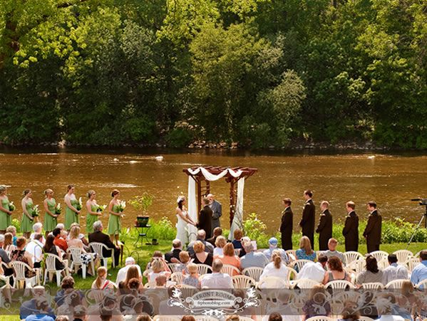Hubbard Park Lodge Wedding Ceremony