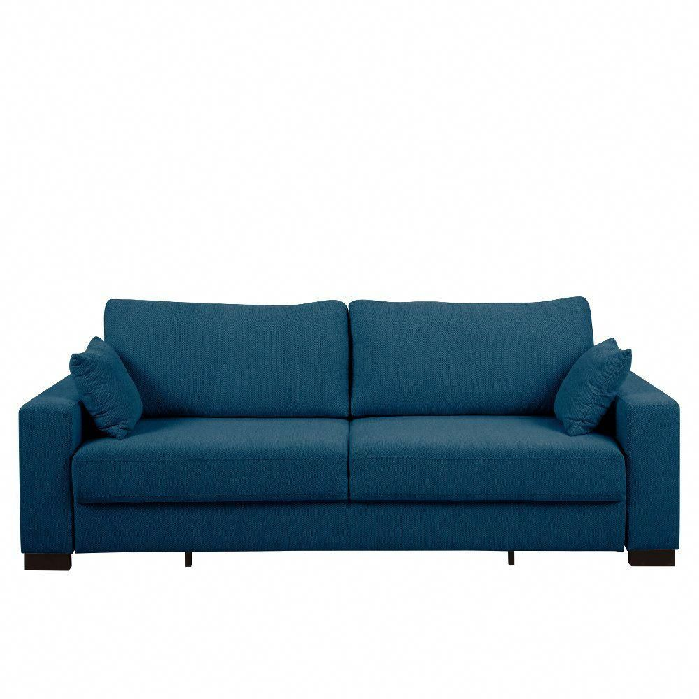 Contemporary Turquoise Blue Sofa Bed   Canterbury  ...