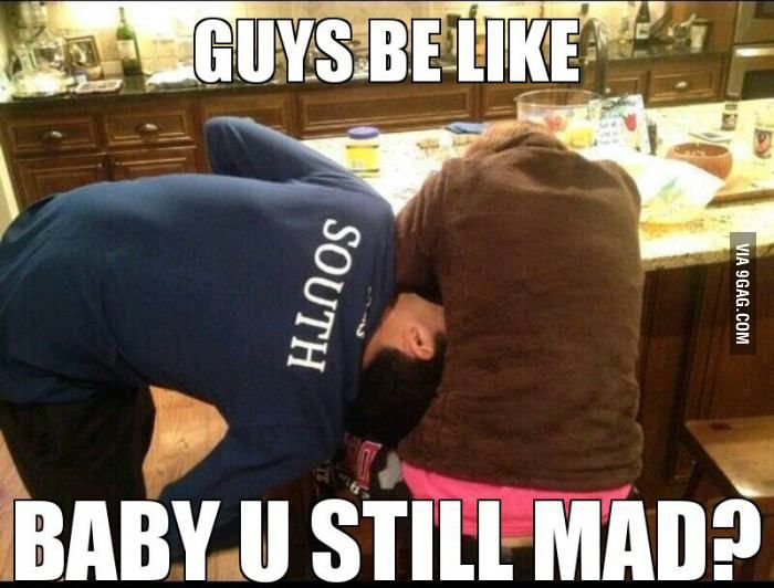 Funny Meme For Him : How guys pacify their girlfriend wife guy humor and hilarious
