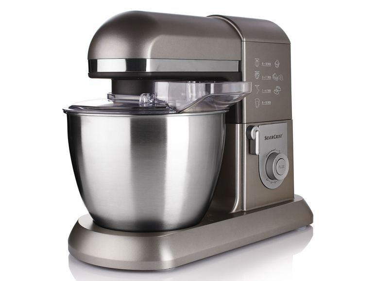 SILVERCREST® Profi-Küchenmaschine SKMP 1300 B3, anthrazit/metallic ...