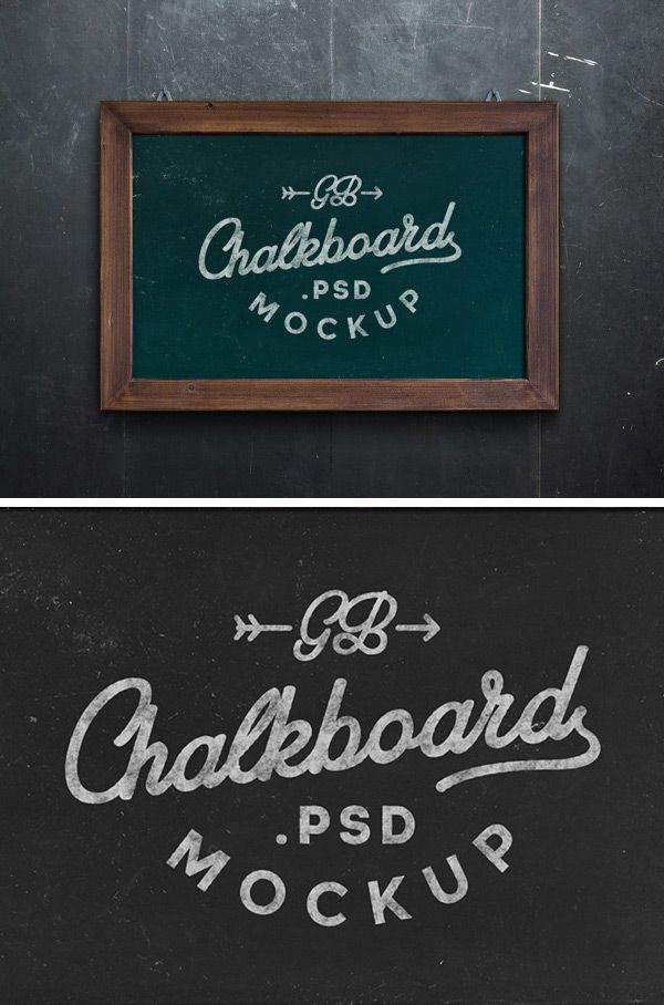 Today S Special Is An Original Chalkboard Mock Up That