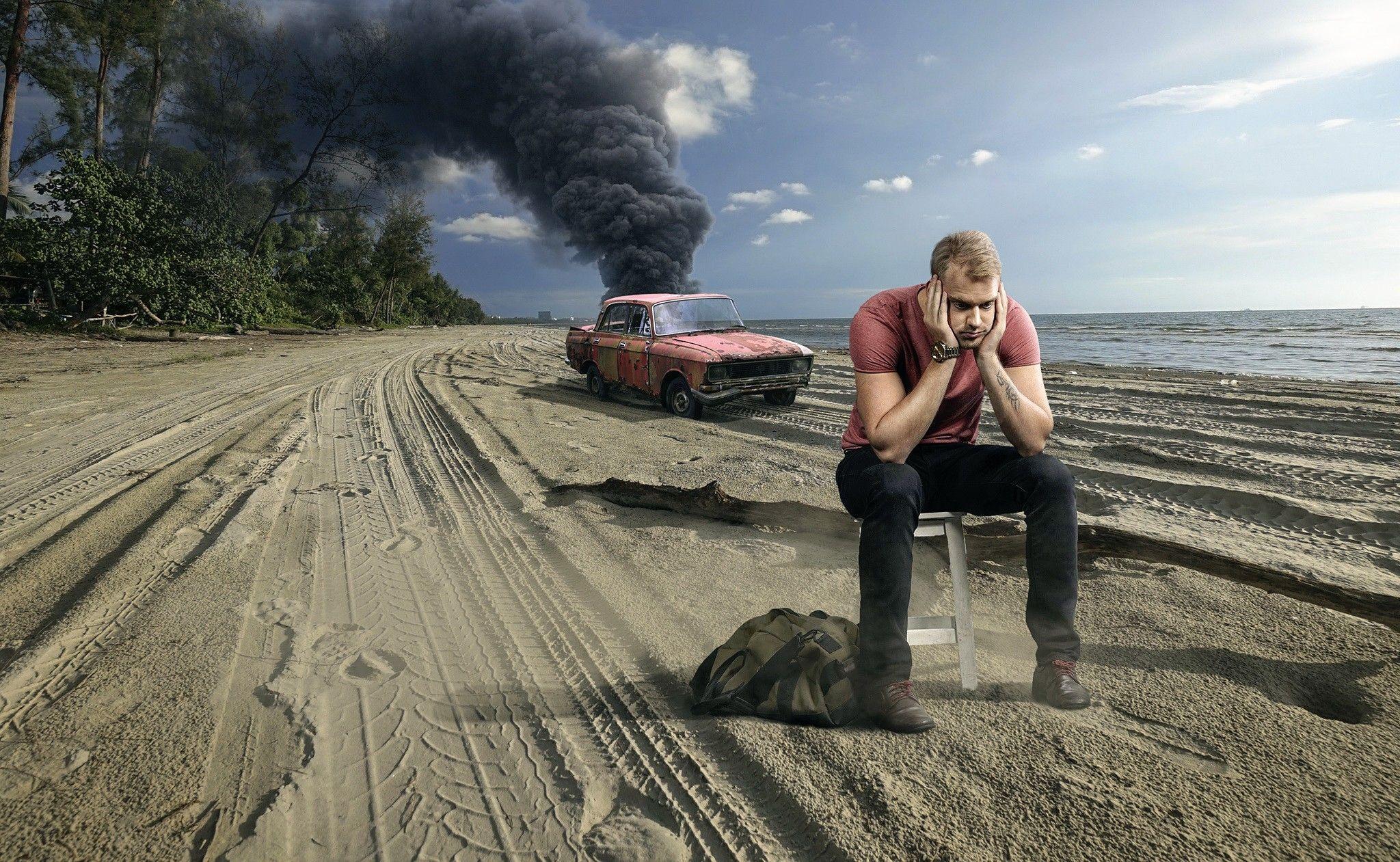 Imagen de Smoke Get in Your Eyes, primer capitulo de la serie televisiva Mad Men.
