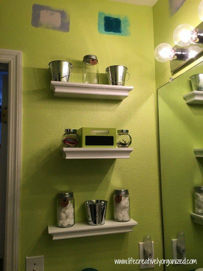 14 ways to add storage using bathroom walls | Kid bathrooms ...