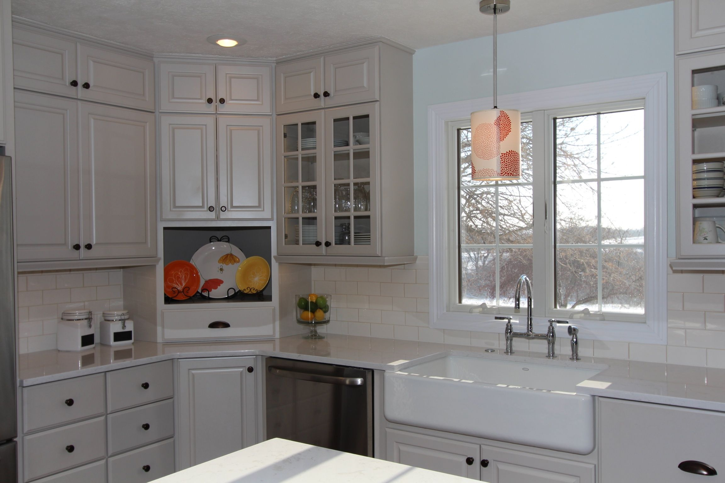Omega Custom Magnolia Ice Cabinets Led Lighting Is Mounted In The Trim Under Cabinetry