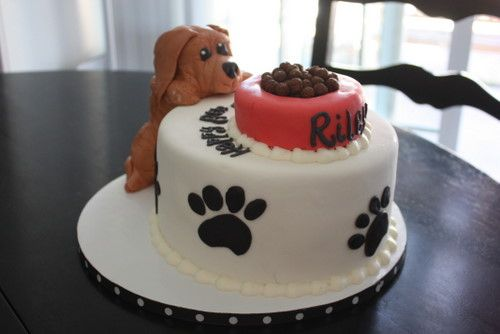 Puppy Birthday Cake For Girls