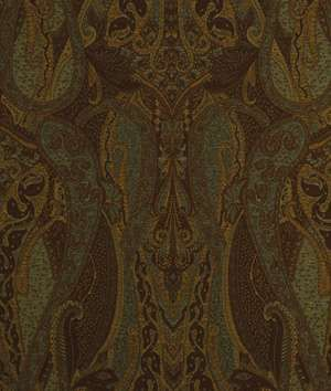 Beacon Hill Villa Paisley Teak Fabric