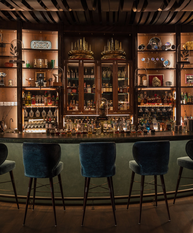 Deep Dive Restaurant Interior Design Project Bar Interior Cocktail Bar Interior Seattle Interior Design