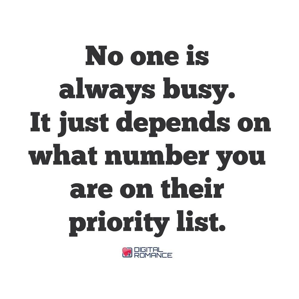 Feelin Low Priority Priorities Quotes Lessons Learned In Life Quotes