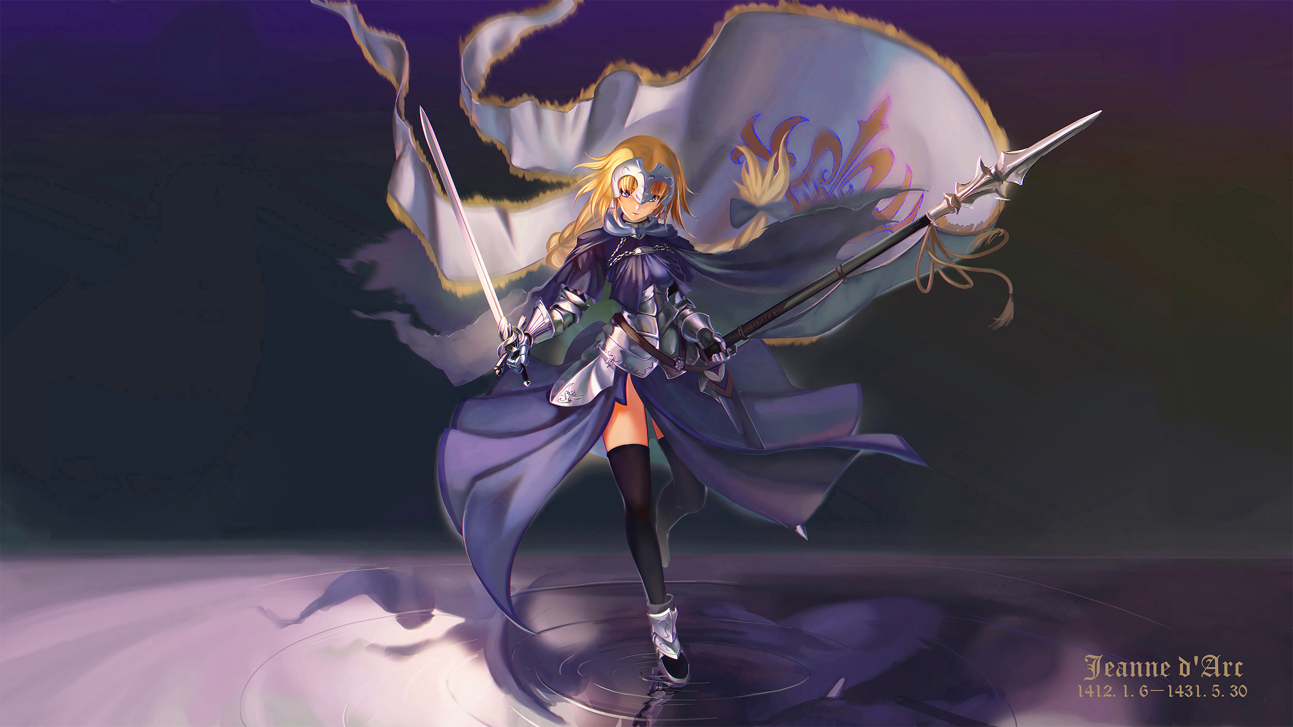 Anime Fate/Grand Order Jeanne D'Arc Wallpaper
