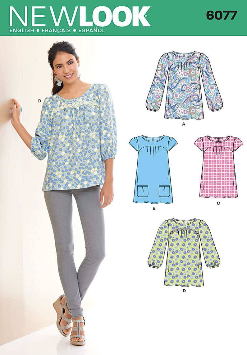 new look patterns tops - Pesquisa Google