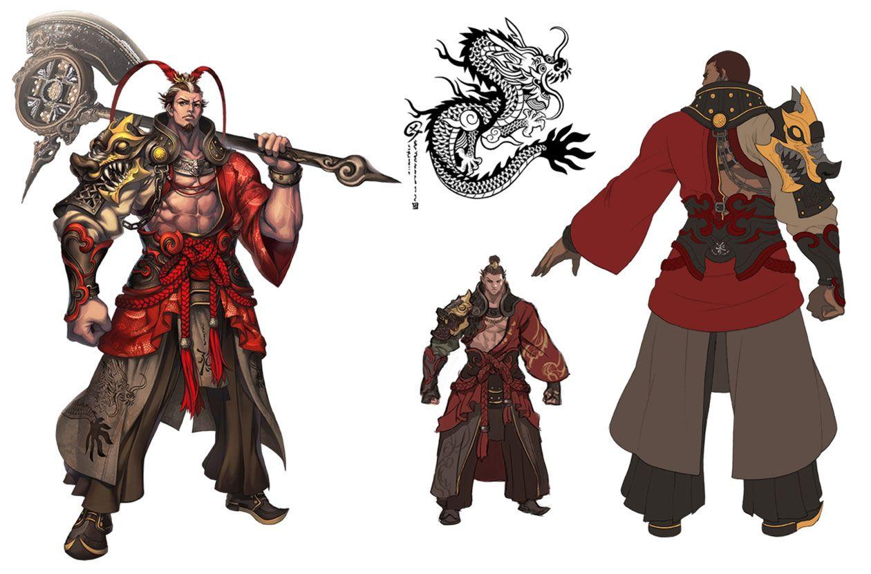 Gon Male Destroyer Concept Art Blade Soul Art Gallery