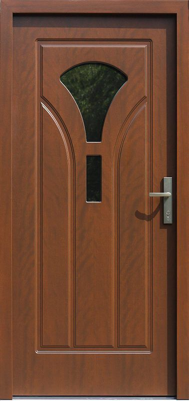 Exterior wooden doors with glass model 508s5 in color …
