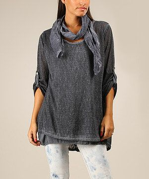 Another great find on #zulily! Blue Meredith Top by Charlotte&Louis #zulilyfinds