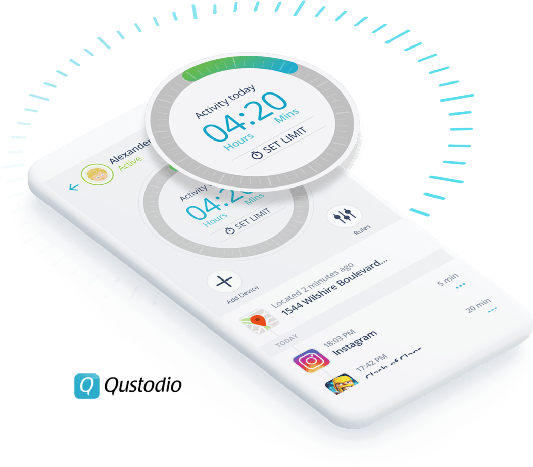Qustodio Parental Control App for all devices