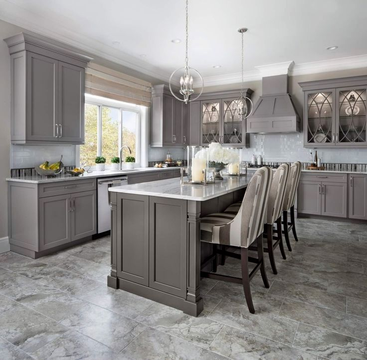 perimeter door style kingsridge wood type maple finish white painted island door style on kitchen decor grey cabinets id=35937