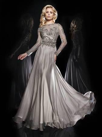 Silver Tea Length Formal Dresses Google Search Wedding