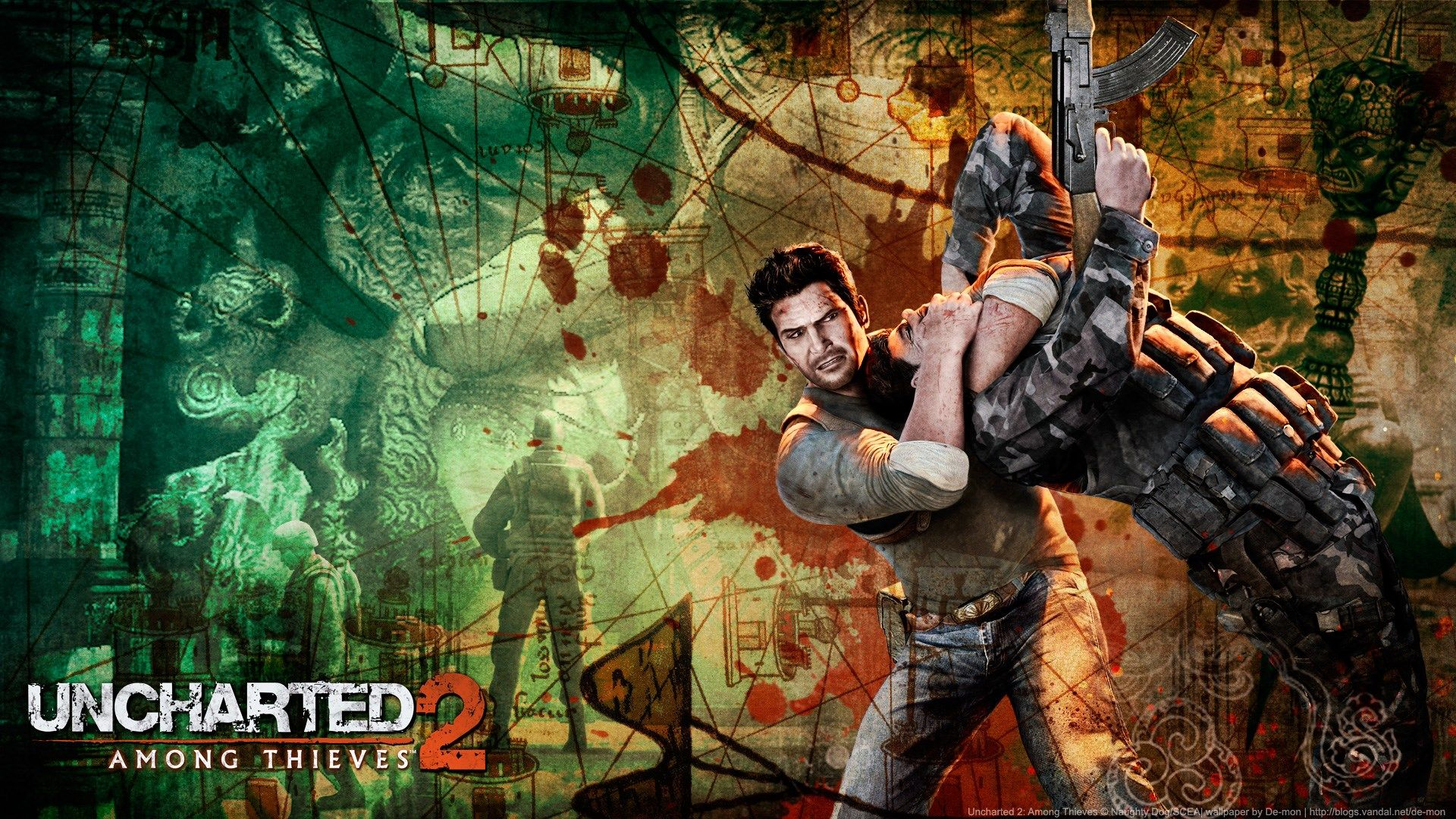 1920x1080 Uncharted 2 Among Thieves Game Wallpaper Uncharted