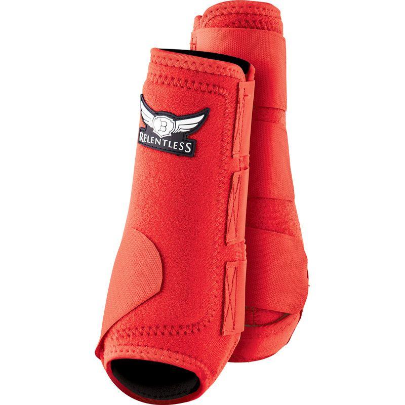 Basic PVC Ribbed Bell Boots Royal