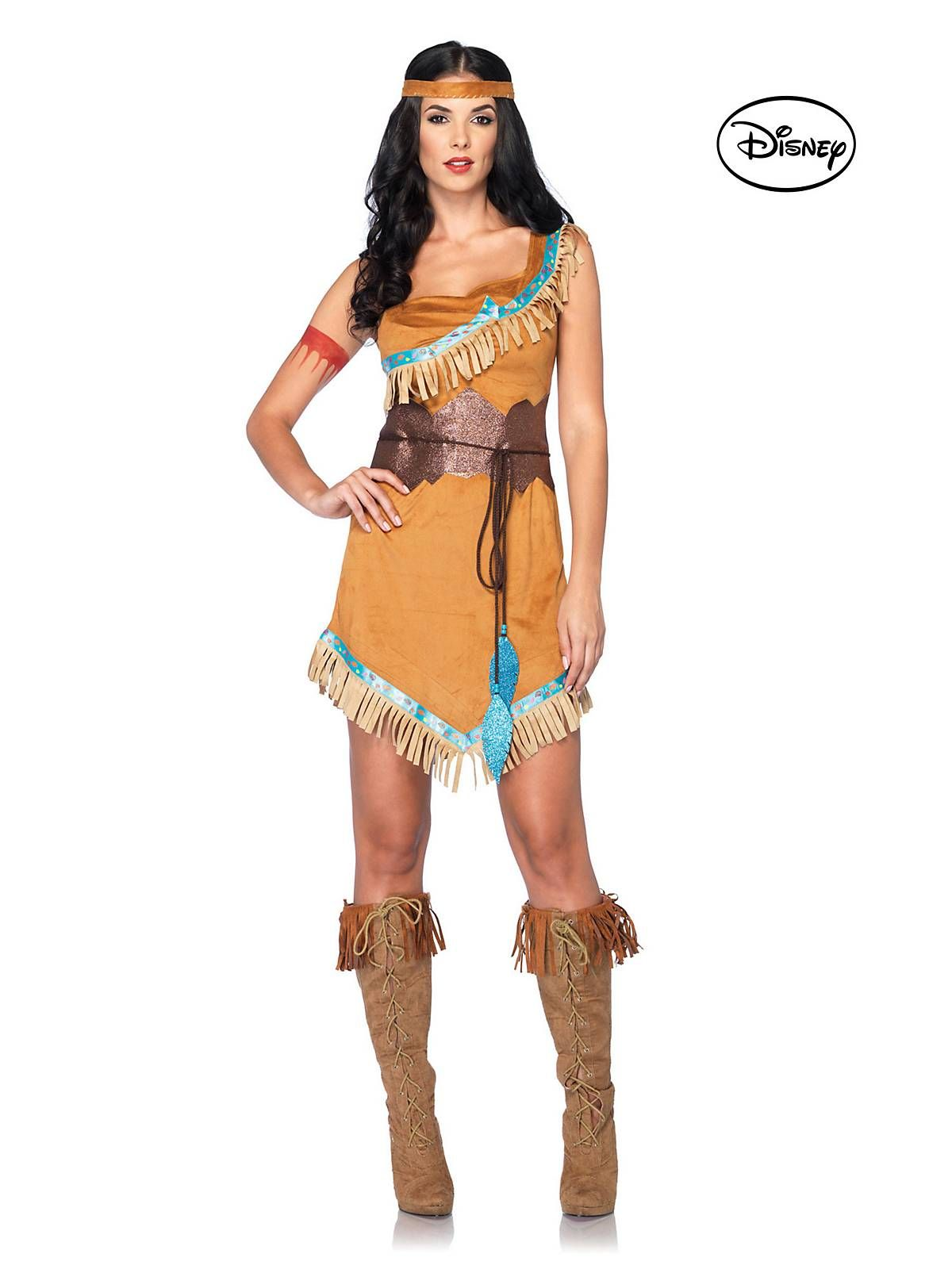 Princess Pocahontas Costume | Cheap Disney Princess Costumes for Adults  sc 1 st  Pinterest & Adult Pocahontas Deluxe Disney Costume | Pocahontas costume ...