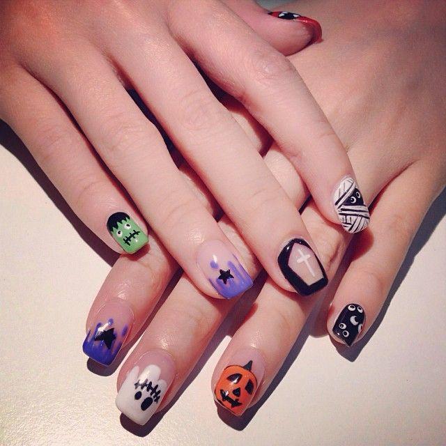 October Nail Art: October Nails, Nails, Nails