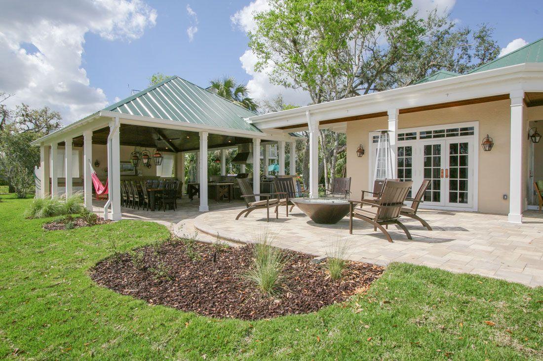 Outdoor Kitchen Living Space Remodel Alva Fl Outdoor Living Florida Home Outdoor Decor