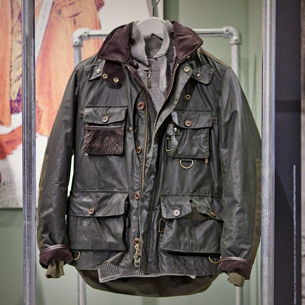 Heavy Duty One Barbour Omd Lifestyle And Fashion In