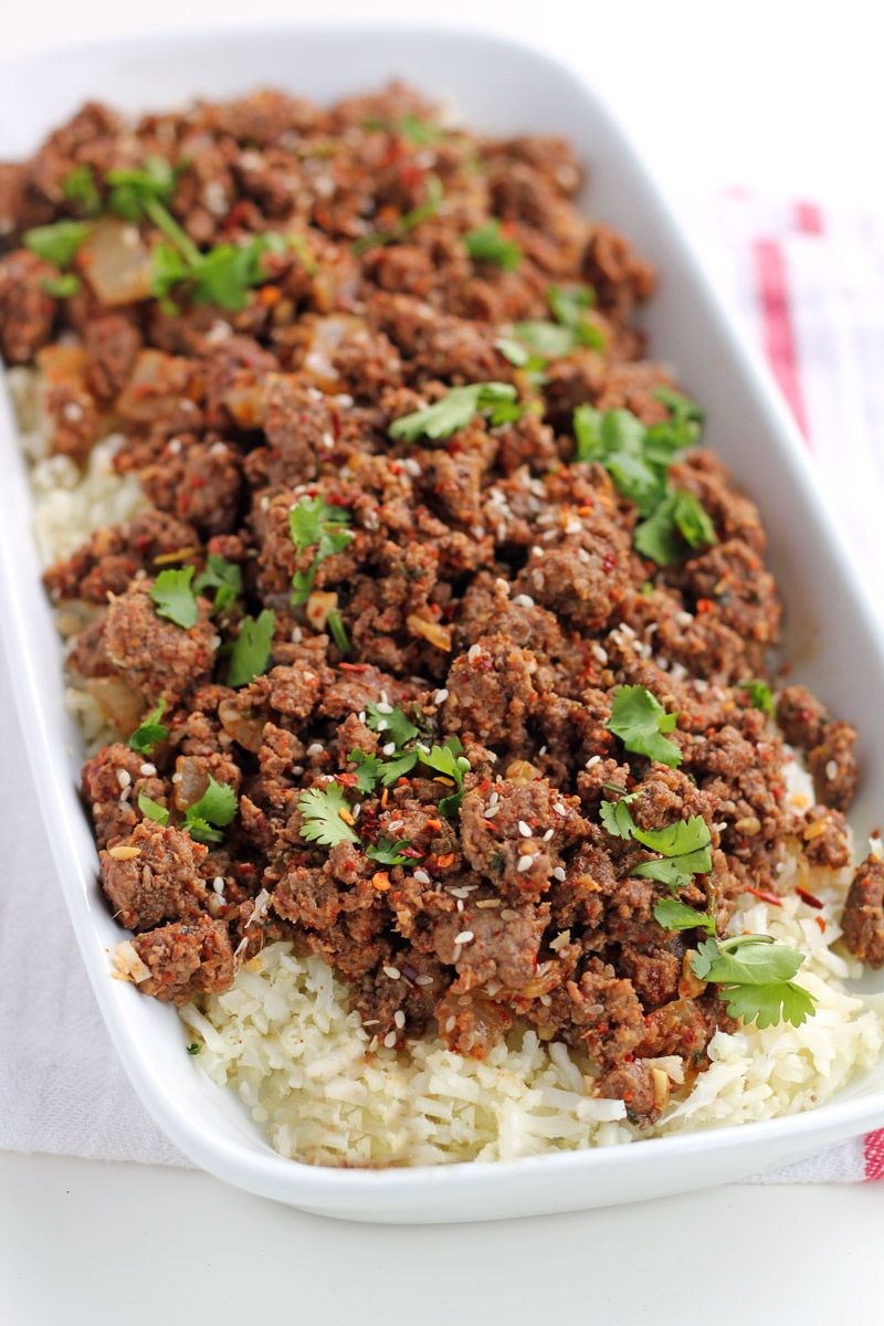 Paleo Spicy Korean Ground Beef Recipe Such An Easy And Delicious Meal For Busy Weeknights Grain F Ground Beef Paleo Recipes Keto Beef Recipes Beef Recipes Uk