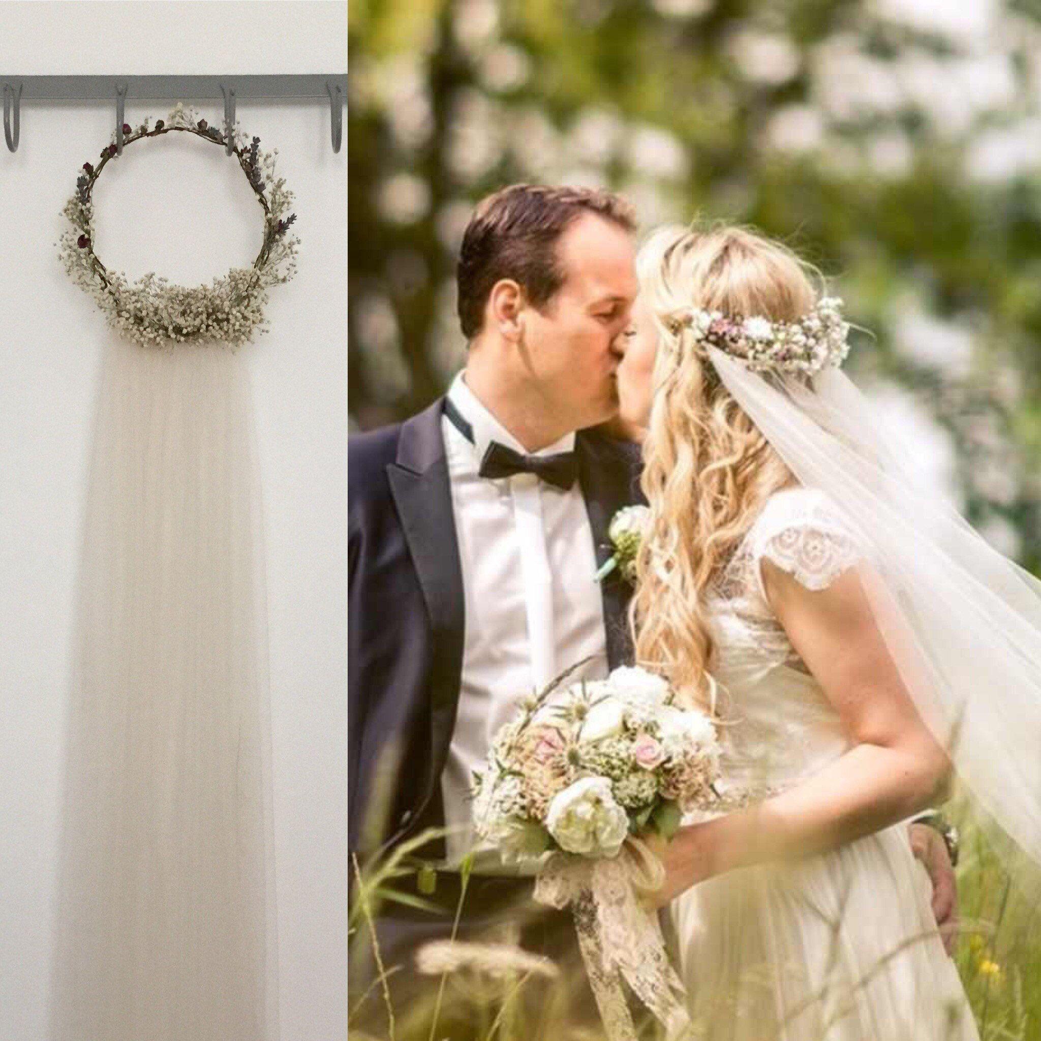 Flower crown wedding veils fingertip wedding veil short wedding flower crown wedding veils fingertip wedding veil short wedding veil izmirmasajfo