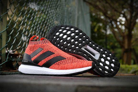 adidas ace 16 ultra boost orange black