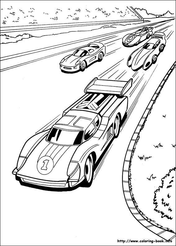 Hot Wheels Coloring Picture Race Car Coloring Pages Cars Coloring Pages Hot Wheels