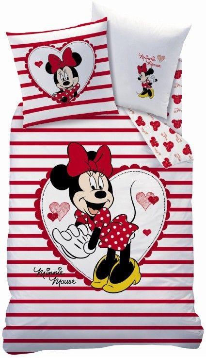 Op Dit Dekbedovertrek Staat Een Van Disney S Grootste Helden Afgebeeld Namelijk Minnie Mouse Op Het Dekbedovertrek Is De Al Minnie Mouse Dekbedovertrek Mousse
