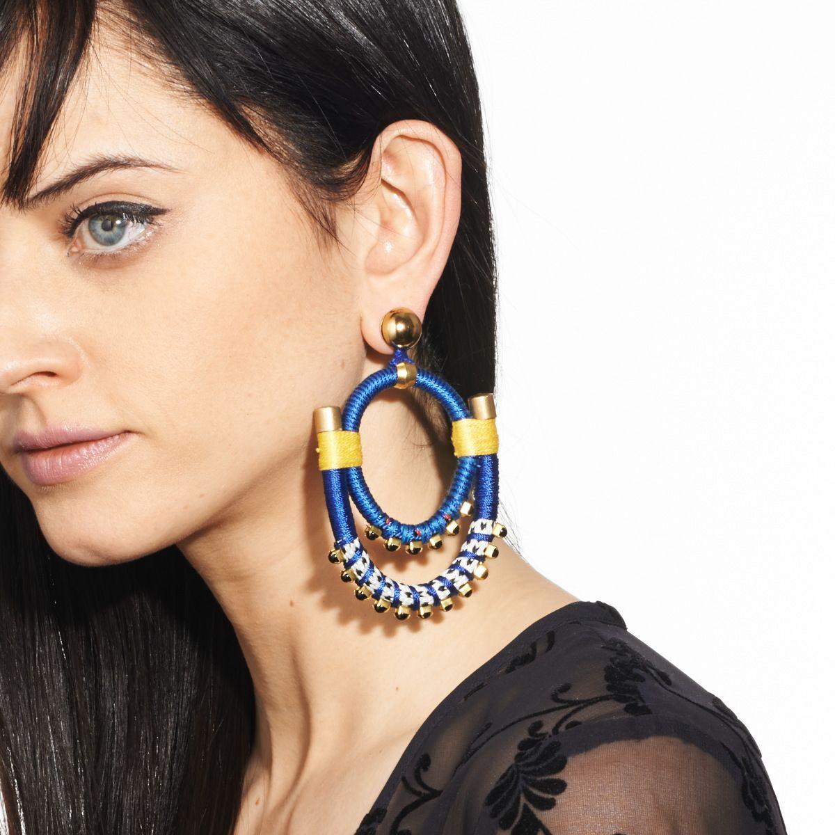 Or maybe earrings?