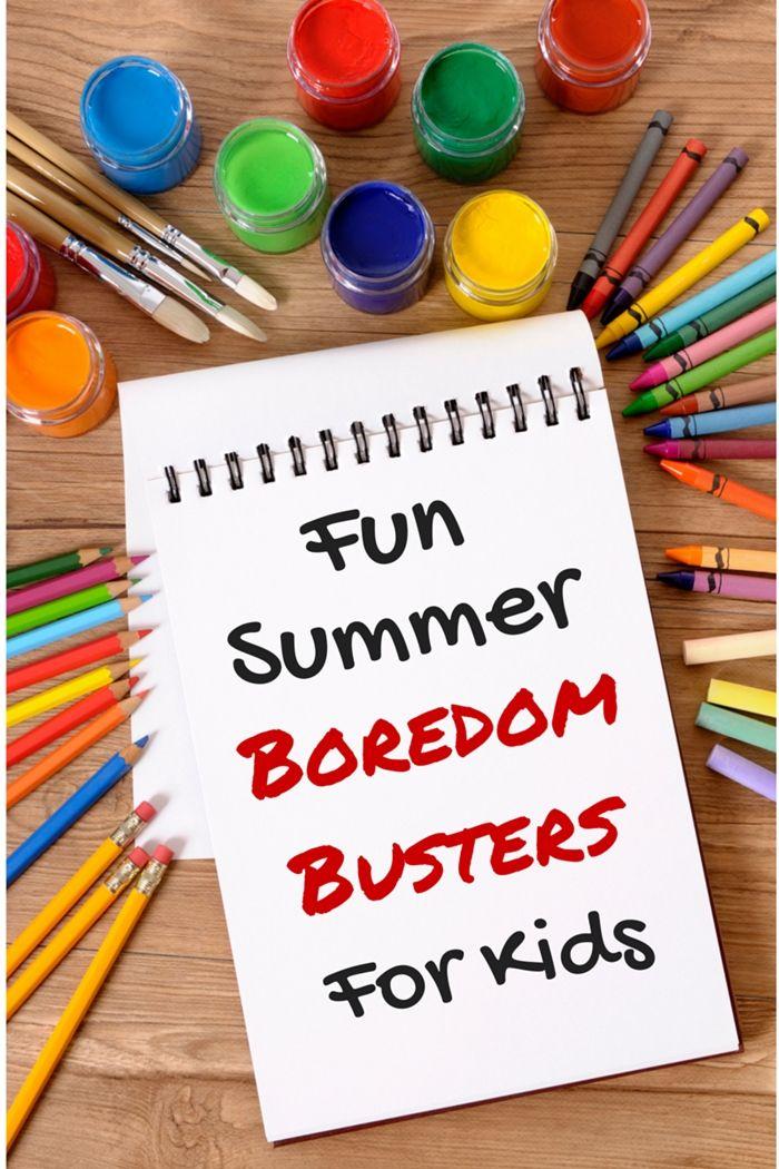 Fun Summer Boredom Busters | Fun For Kids | Sunday school