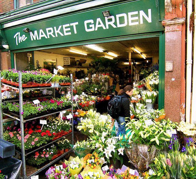 Flower Shop At Borough Market