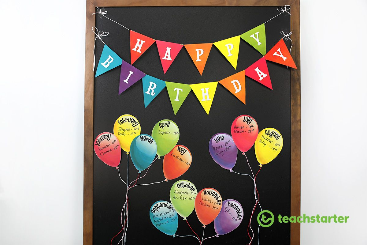 5 Fun And Unique Birthday Wall Ideas