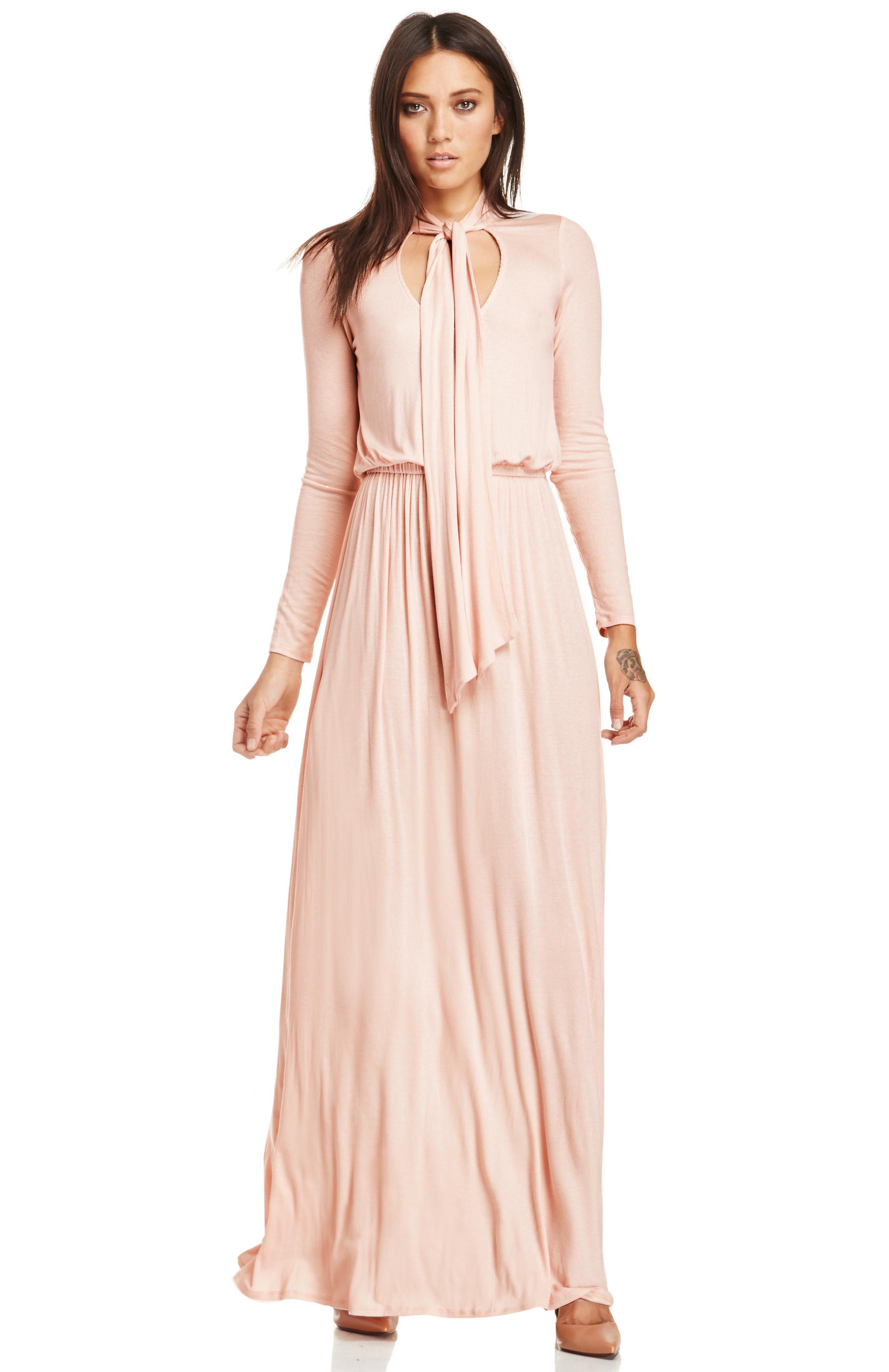 Rib Lowe Pant in Pink. - size M (also in L,S,XS) Rachel Pally