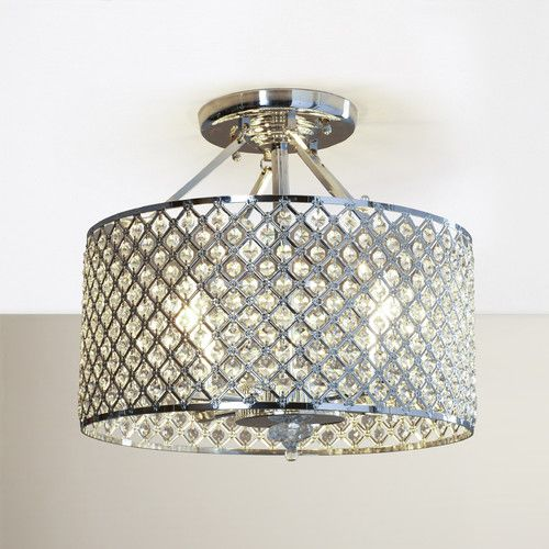 House of hampton neptune 4 light semi flush mount