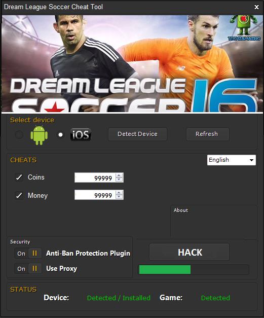 Dream League Soccer 2016 Hack Unlimited Coins Download Online Full Version Of Dream League Soccer 2016 Hack Unlimited Coins No Su Soccer Tool Hacks League