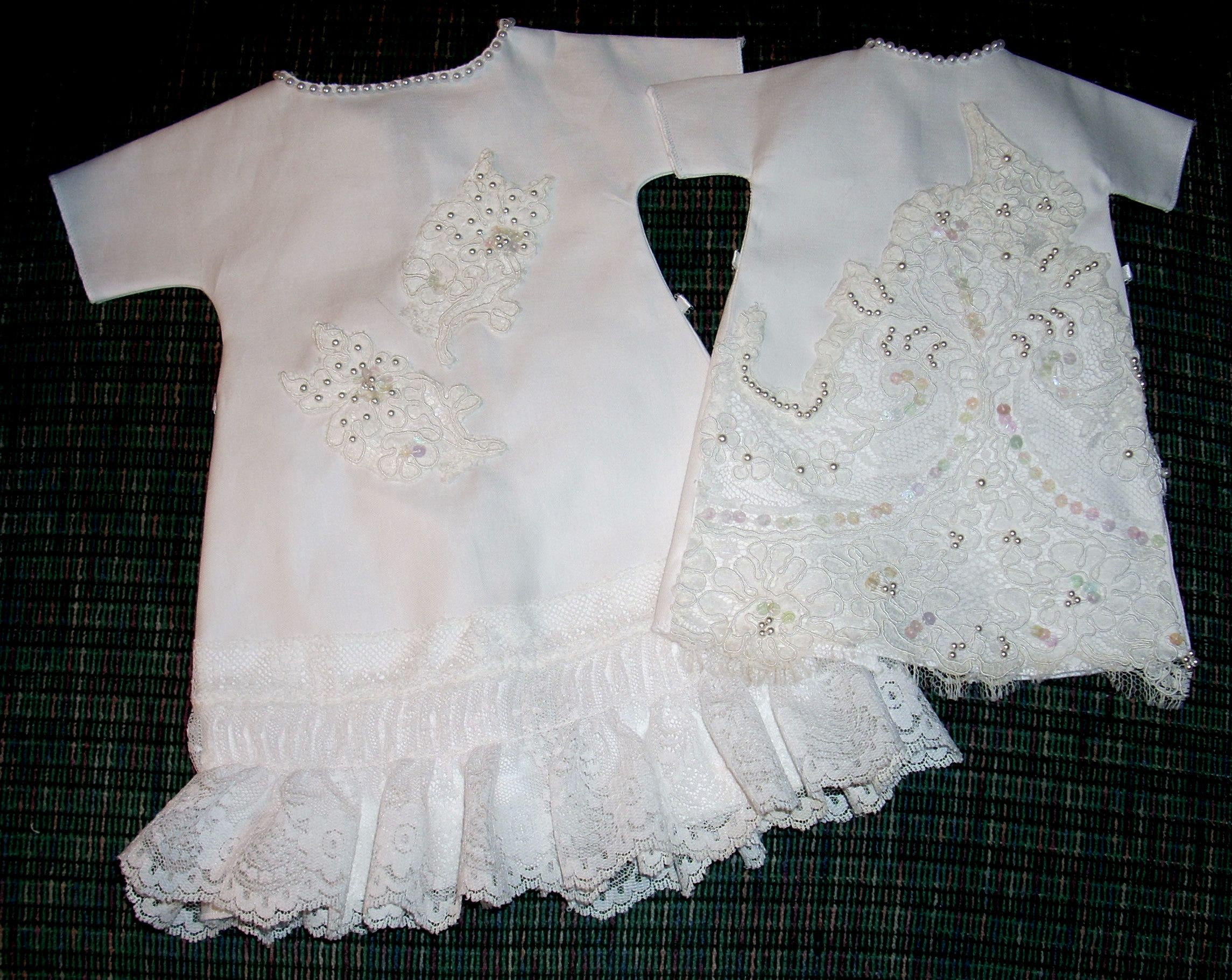 Angel Gowns - made from a donated wedding gown for NICU Helping ...