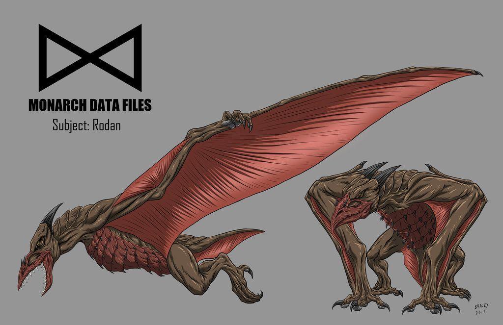 Monarch Data Files: Rodan by Warriorking4ever.deviantart.com on @deviantART