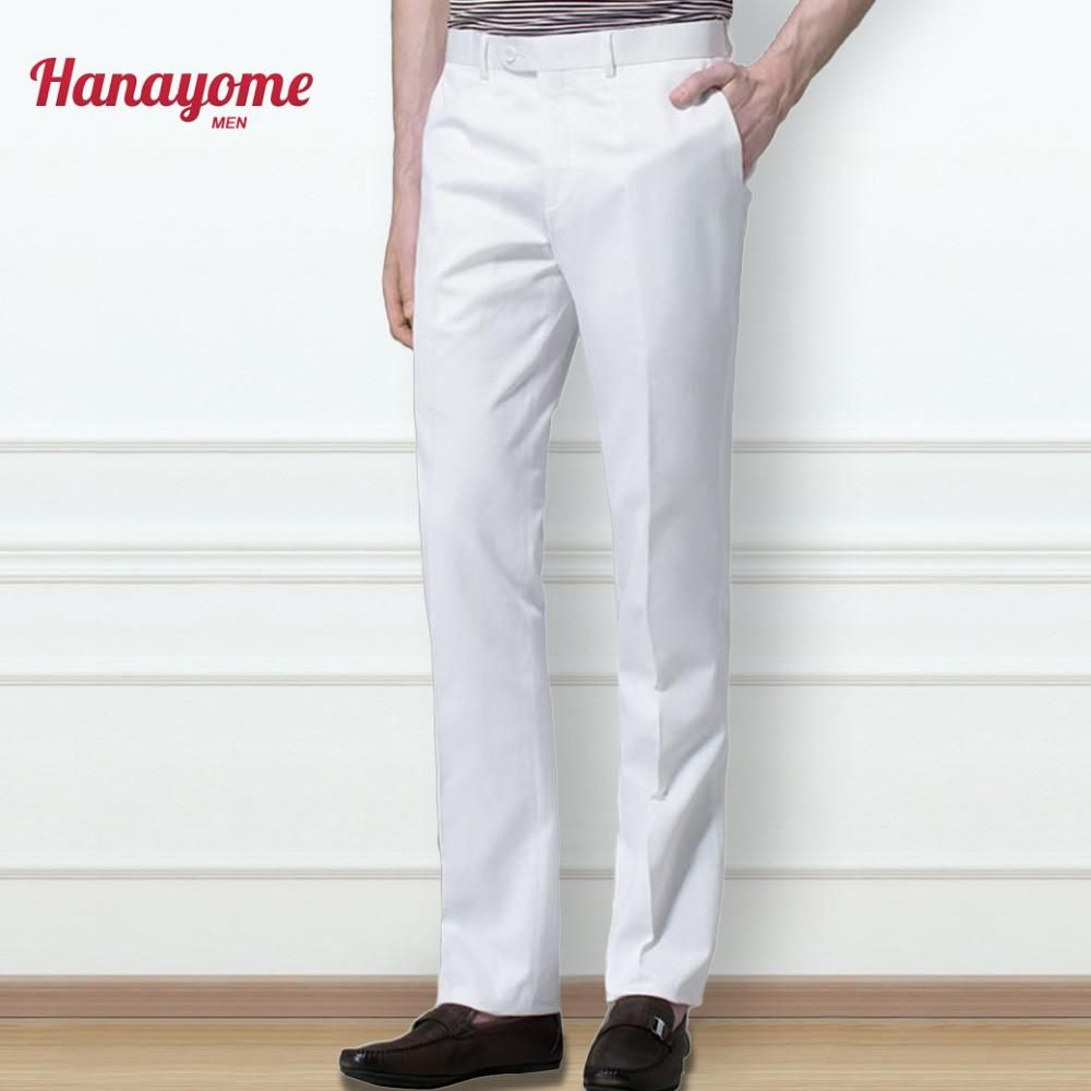 Gender Men Item Type Suit Pants Front Style Flat Brand Name Hanayome Material Acrylic Pant Slim Fit Dress Pants Men Slim Fit Dress Pants White Dress Pants [ 1000 x 1000 Pixel ]