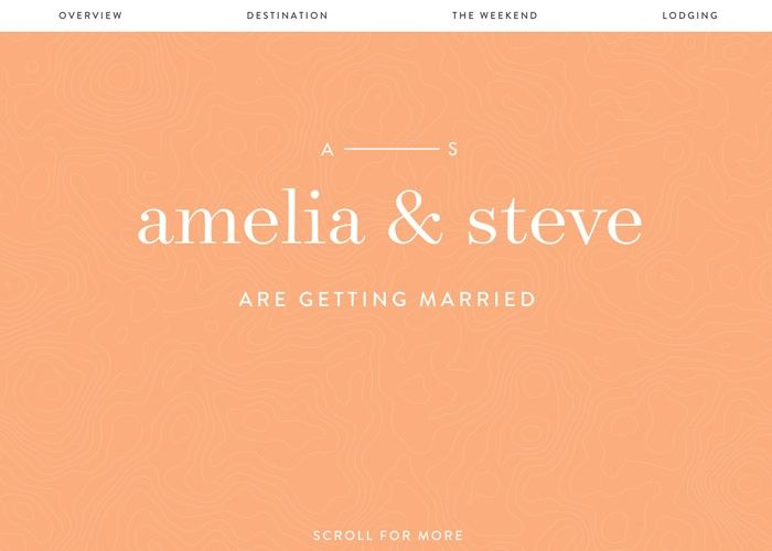 Amelia & Steve Wedding | CSS Website