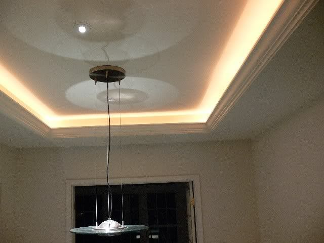 view bench rope lighting. how to add rope lighting crown molding stepbystep view bench
