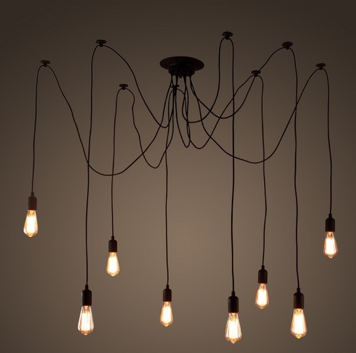 131.10$  Watch now - http://alii2p.shopchina.info/1/go.php?t=32481351143 - DIY Loft Style Lifting Rack Droplight Edison Pendant Light Fixtures Vintage Industrial Lighting For Dining Room Bar Hanging Lamp 131.10$ #aliexpressideas