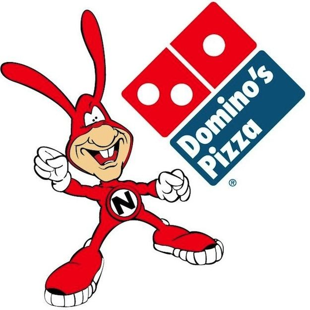 "80s Domino's...Avoid the Noid! My father was a delivery driver for domino's and had lots of ""Noid"" stuff."